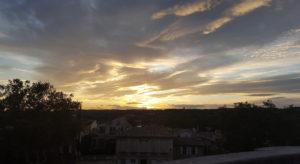mindful sunset